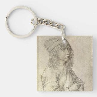 Self Portrait at Age 13 by Albrecht Durer Key Ring