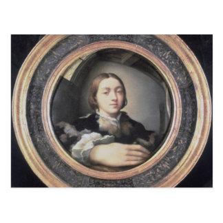 Self Portrait at the Mirror Postcard