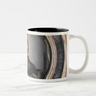 Self Portrait at the Mirror Two-Tone Coffee Mug