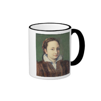 Self portrait attired as maid-of-honour coffee mug
