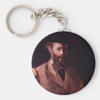 Self-Portrait Basic Round Button Key Ring