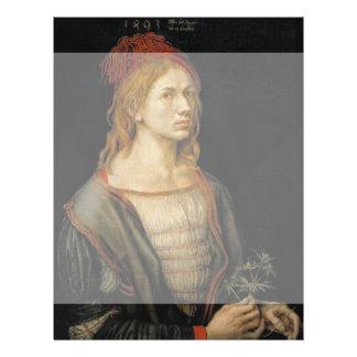 Self Portrait by Albrecht Durer 1493 Full Color Flyer