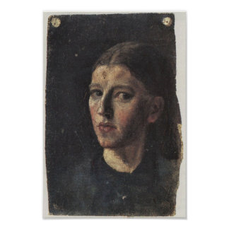Self Portrait by Anna Ancher Poster