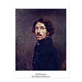 Self-Portrait By Eugene Delacroix Postcard