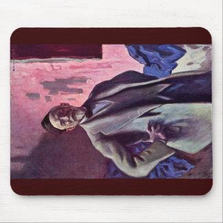 Self-Portrait By Habermann Hugo Von (Best Quality) Mousepads