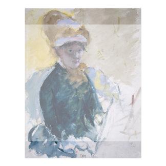 Self-Portrait by Mary Cassatt Flyer Design