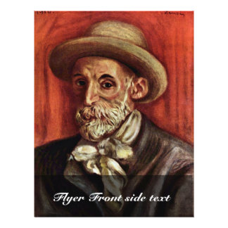 Self-Portrait By Pierre-Auguste Renoir 21.5 Cm X 28 Cm Flyer