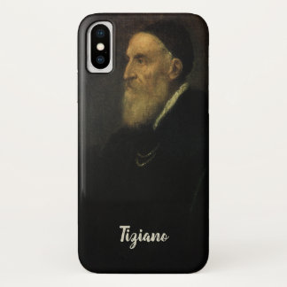 Self Portrait by Titian, Renaissance Art iPhone X Case