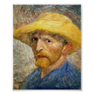 Self-Portrait by Van Gogh Poster