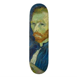 Self Portrait by Vincent Van Gogh 1889 Skate Board Decks