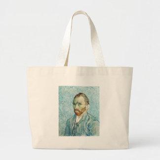 Self Portrait by Vincent Van Gogh Bags