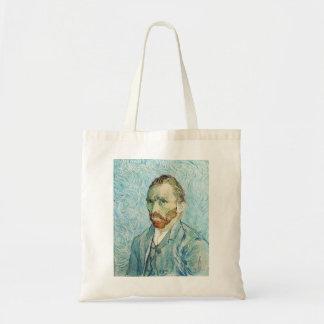 Self Portrait by Vincent Van Gogh Budget Tote Bag