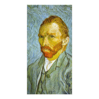 Self Portrait by Vincent van Gogh Customised Photo Card