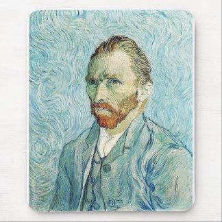 Self Portrait by Vincent Van Gogh Mouse Pad