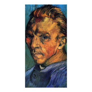 Self-Portrait by Vincent van Gogh Customized Photo Card
