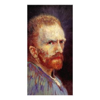 Self-Portrait by Vincent van Gogh Custom Photo Card