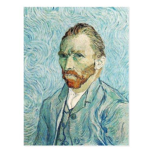 Self Portrait by Vincent Van Gogh Postcards