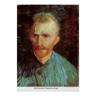 Self-Portrait by Vincent van Gogh Poster