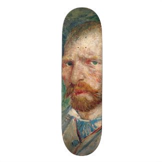 Self-Portrait by Vincent Van Gogh Skateboard Decks