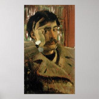 Self portrait, c.1865 poster