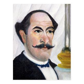 Self portrait, c.1900-03 postcard