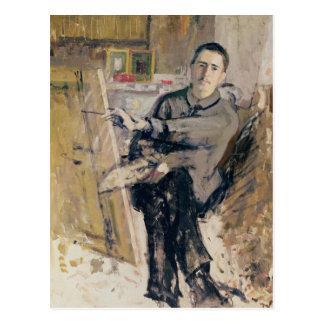 Self Portrait, c.1907-08 Postcard