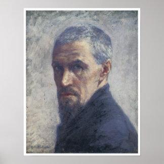 Self-Portrait, Gustave Caillebotte, ca. 1892 Poster