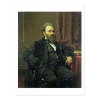 Self Portrait of the Artist, 1869 (oil on canvas) Postcard