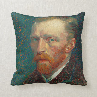 Self Portrait of Vincent Van Gogh (1887) Cushion