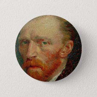 Self Portrait of Vincent Van Gogh 6 Cm Round Badge