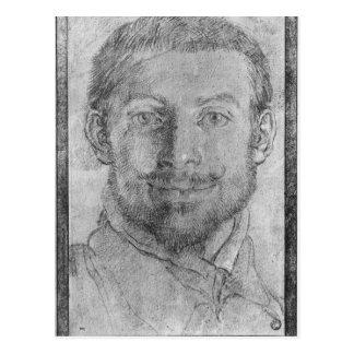 Self portrait postcard