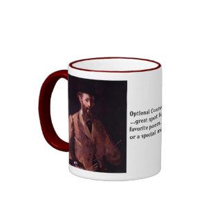 Self-Portrait Ringer Mug