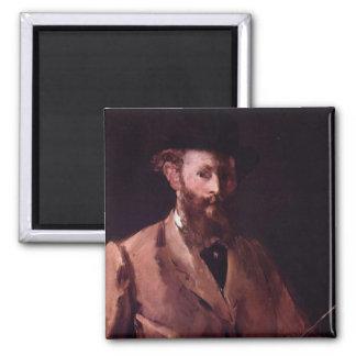 Self-Portrait Square Magnet