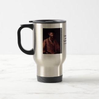Self-Portrait Stainless Steel Travel Mug