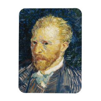Self Portrait Vincent van Gogh fine art painting Rectangular Photo Magnet