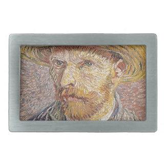 Self-Portrait with a Straw Hat - Van Gogh Belt Buckle
