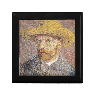Self-Portrait with a Straw Hat - Van Gogh Gift Box
