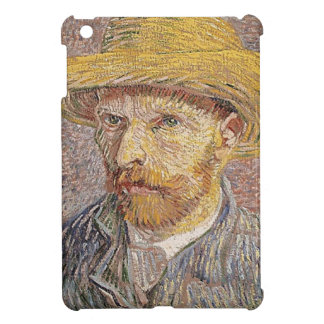 Self-Portrait with a Straw Hat - Van Gogh iPad Mini Cover