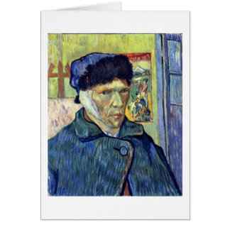 Self-Portrait With Cut Ear By Vincent Van Gogh Greeting Card