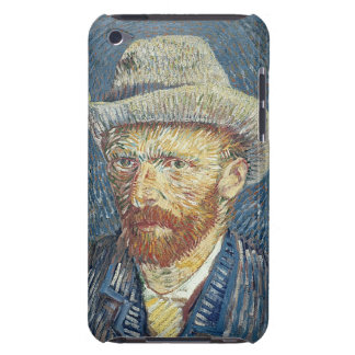 Self Portrait with Felt Hat, 1887-88 (oil on canva Barely There iPod Case