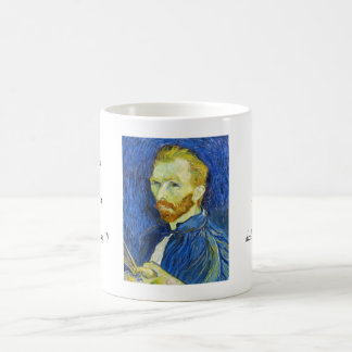 Self Portrait with Pallette vincent van gogh Coffee Mug