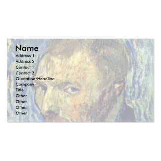 Self-Portrait'Ã I'Oreille Mutile ' By Vincent Van Pack Of Standard Business Cards