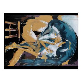 Self Reflection - of a dancer Postcard