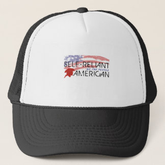 Self-Reliant Americans Trucker Hat