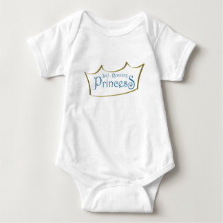 Self-Resuing Princess Baby Bodysuit