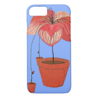 Self-Seeding Potted Plants iPhone 7 Case