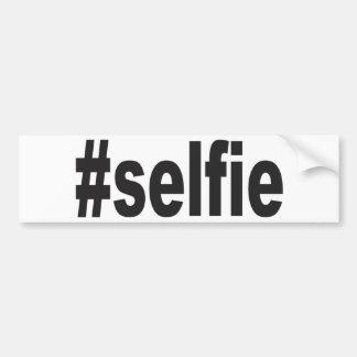 #selfie bumper sticker