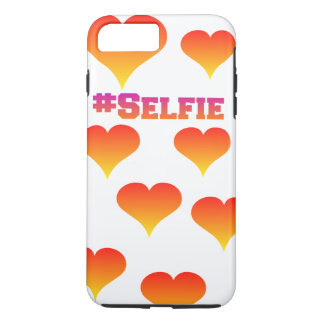 #selfie case with hearts