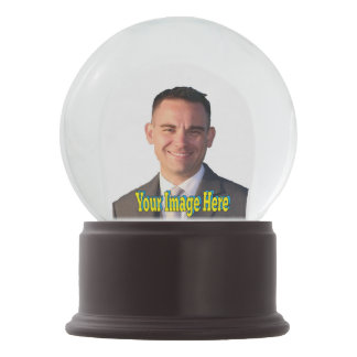 Selfie Create Your Own Photo Template Graphics Snow Globe