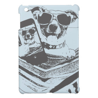 selfie dogs iPad mini cover